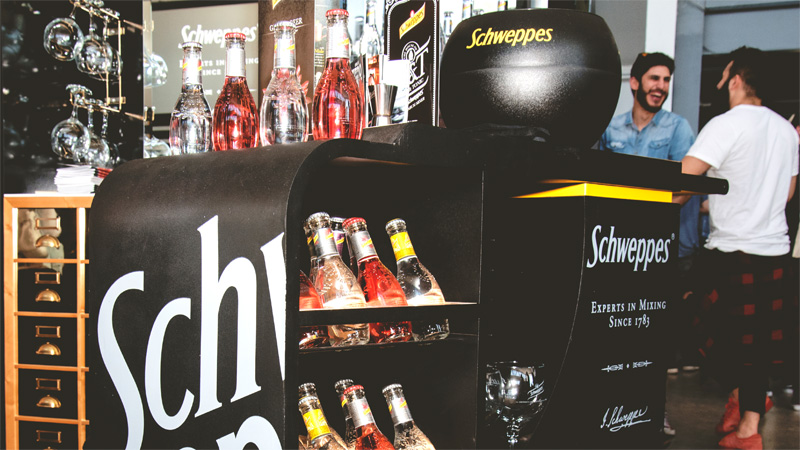 Karisma Communication Work Events Gin Day Schweppes