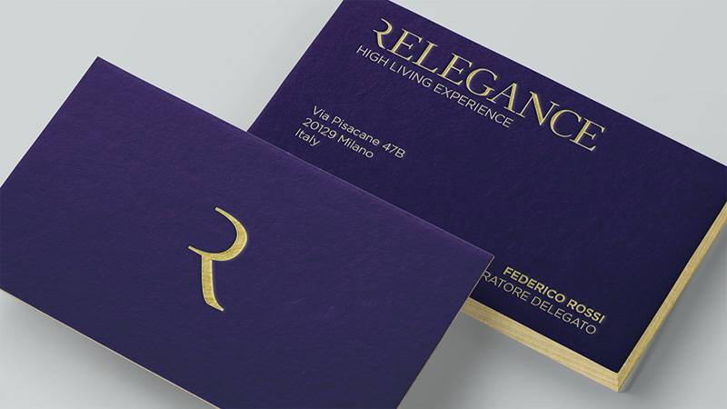 Karisma Communication Work Brand Identity Relegance